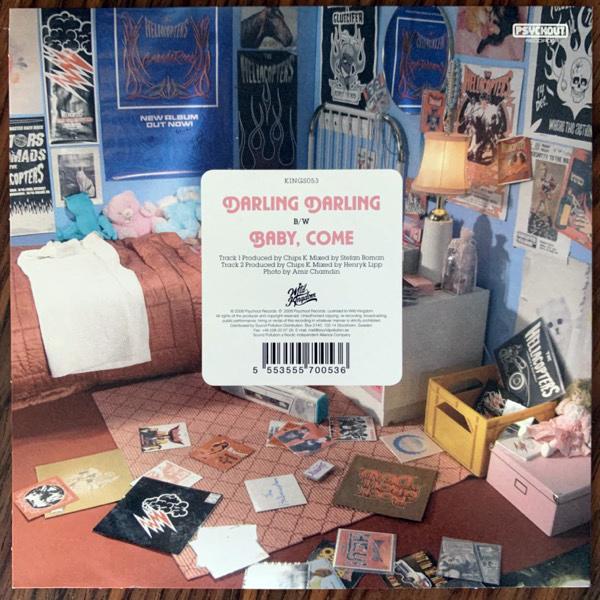 "HELLACOPTERS, the Darling Darling (Wild Kingdom - Sweden original) (NM/EX) 7"""