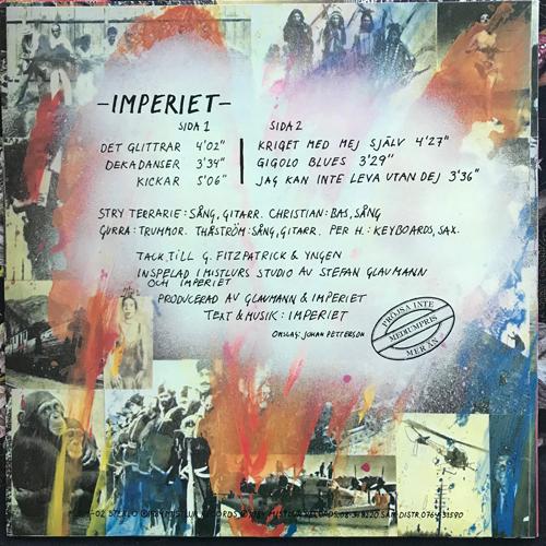 IMPERIET Imperiet (Mistlur - Sweden original) (EX/VG+) MLP