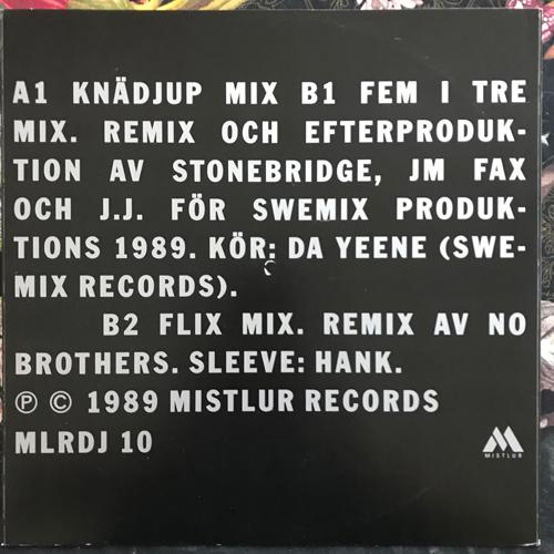 "THÅSTRÖM Stå Aldrig Still Remixes (Promo) (Mistlur - Sweden original) (VG+/EX) 12"""