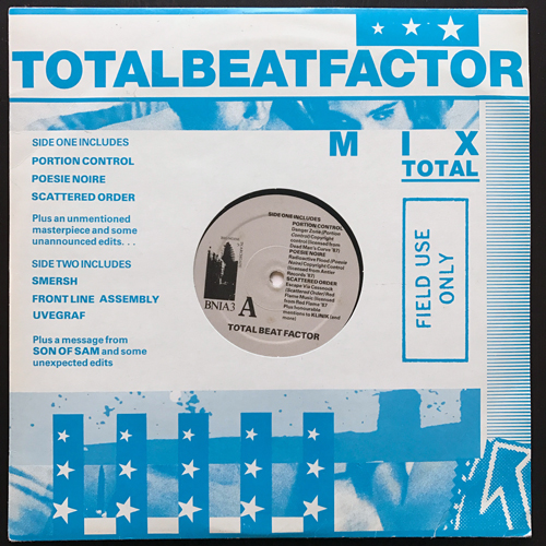 VARIOUS Total Beat Factor (Big Noise In Archgate - UK original) (VG+) 10""
