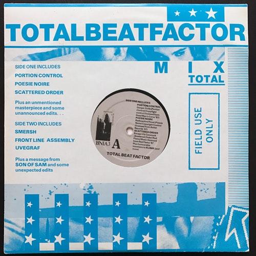 "VARIOUS Total Beat Factor (Big Noise In Archgate - UK original) (VG+) 10"""