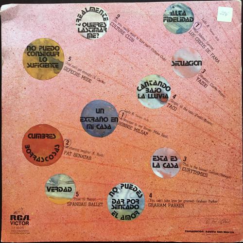 VARIOUS Dancing Club (RCA - Argentina original) (VG/VG+) LP