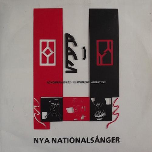 """RAS 1 Nya Nationalsånger (Frequent Frenzy - Sweden original) (EX) 12"""" EP"""