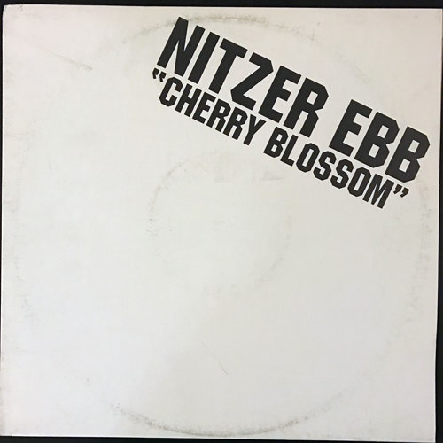 NITZER EBB Cherry Blossom (No label - Sweden unofficial release) (VG/VG+) 12""