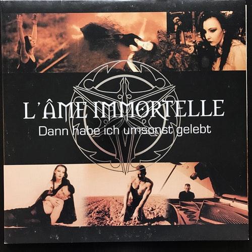 L'ÂME IMMORTELLE Dann Habe Ich Umsonst Gelebt (Matrix Cube - Germany original) (EX/NM) 2xPIC LP