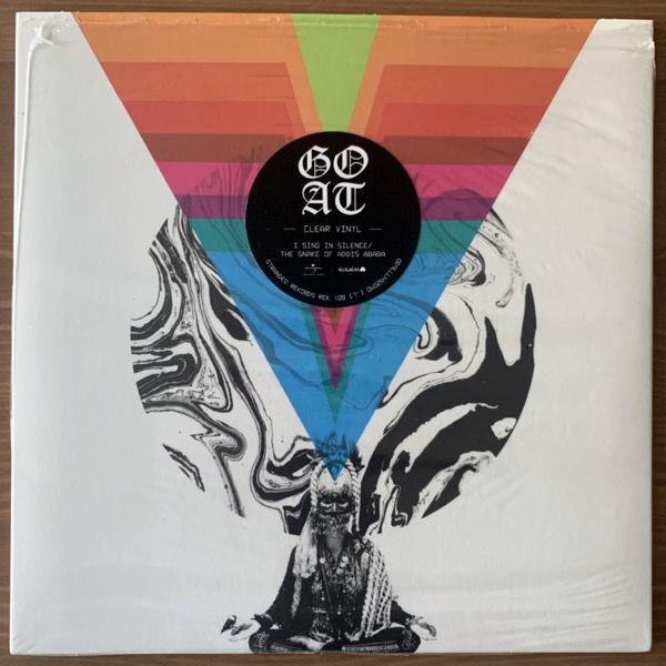 "GOAT I Sing In Silence (Clear vinyl) (Stranded - Sweden original) (NM) 7"""
