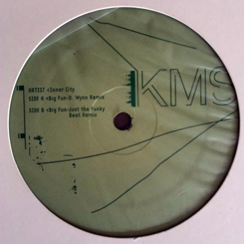 "INNER CITY Big Fun (KMS - USA original) (VG+) 12"""