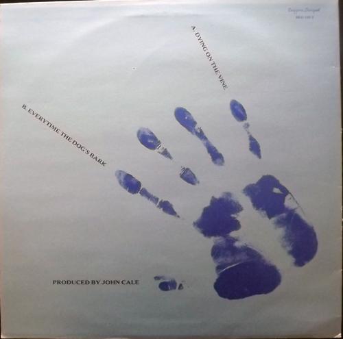 "JOHN CALE Dying On The Vine (Beggars Banquet - UK original) (VG+/EX) 12"""