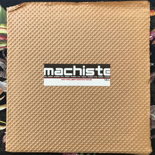 MACHISTE The Italian Stallion (Thrill Beat Construction - Germany original) (EX) LP