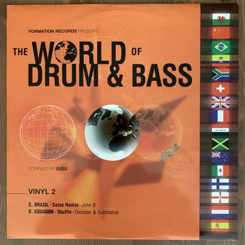 JOHN B / DECODER & SUBSTANCE The World Of Drum & Bass (Formation - UK original) (VG+) 12""