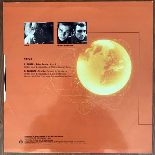 "JOHN B / DECODER & SUBSTANCE The World Of Drum & Bass (Formation - UK original) (VG+) 12"""