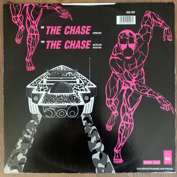 "MODEL 500 The Chase (Kool Kat - UK original) (VG-/VG) 12"""