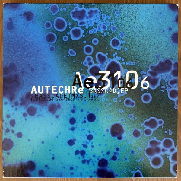 """AUTECHRE Basscad,EP (Basscadetmxs.123) (Warp - UK original) (VG+) 3x10"""" BOX"""