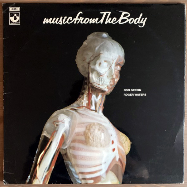RON GEESIN & ROGER WATERS Music From The Body (Harvest - UK original) (VG+) LP