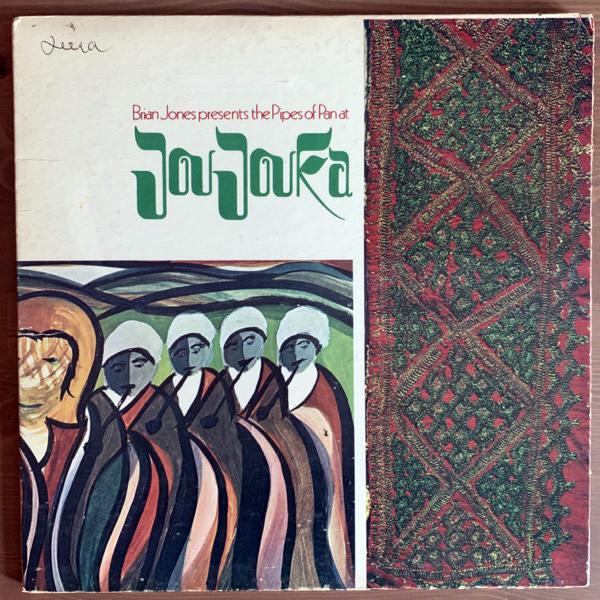 MASTER MUSICIANS OF JOUJOUKA Brian Jones Presents The Pipes Of Pan At Joujouka (Rolling Stones - USA original) (VG) LP