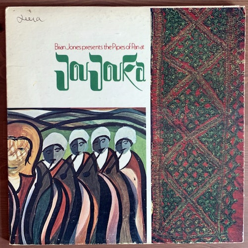 MASTER MUSICIANS OF JOUJOUKA Brian Jones Presents The Pipes Of Pan At Joujouka (Rolling Stones - USA original) (VG) LP