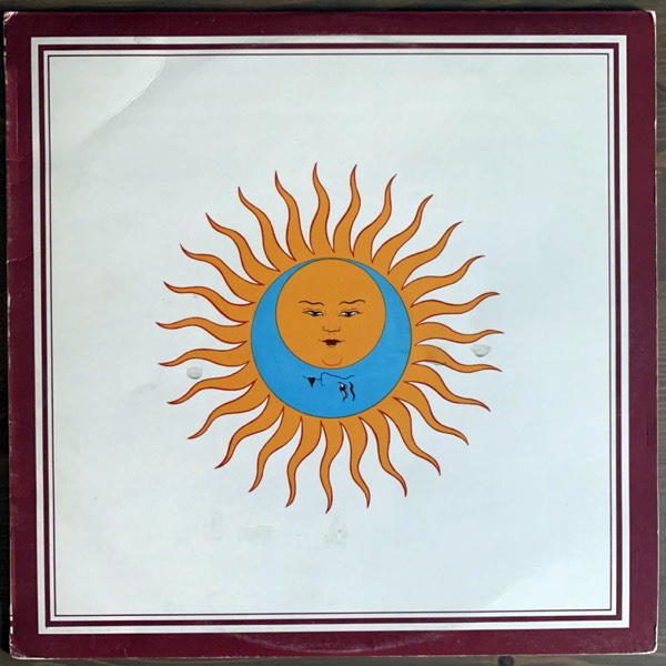 KING CRIMSON Larks' Tongues In Aspic (Island - UK original) (VG+) (NWW List) LP