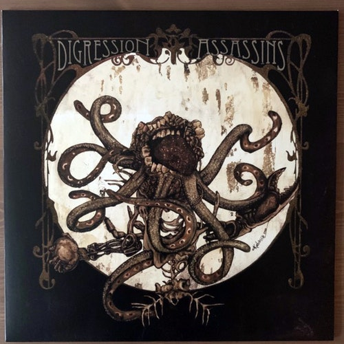 DIGRESSION ASSASSINS Alpha (Ampire - Sweden original) (NM/EX) LP