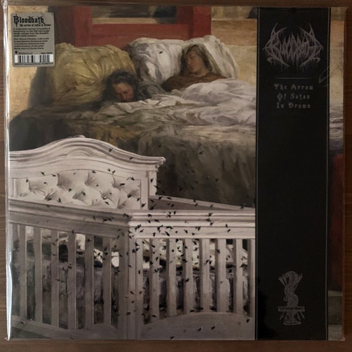 BLOODBATH The Arrow Of Satan Is Drawn (Peaceville - Europe original) (NM/EX) LP