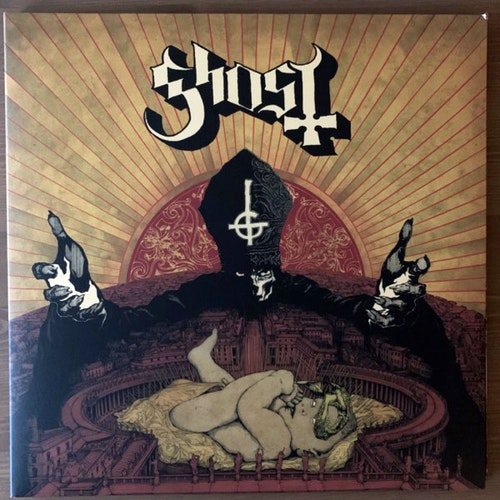 GHOST Infestissumam (Clear vinyl) (Universal - Scandinavia original) (EX) LP