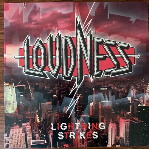 LOUDNESS Lightning Strikes (ATCO - USA original) (VG+) LP