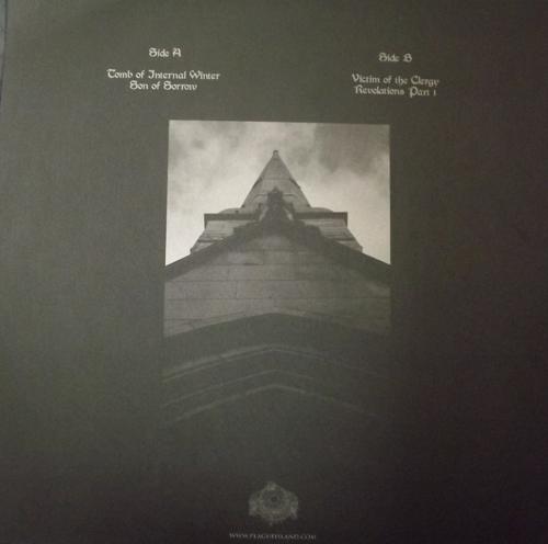 "LAZARUS BLACKSTAR Tomb Of Internal Winter (Plague Island - Sweden original) (EX) 12"" EP"