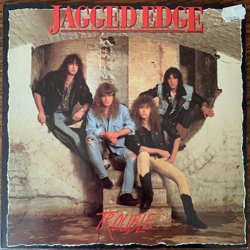 JAGGED EDGE Trouble (Polydor - Holland original) (VG+) LP