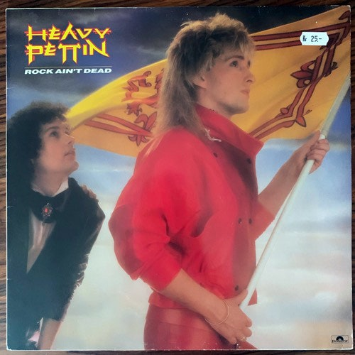 HEAVY PETTIN Rock Ain't Dead (Polydor - Germany original) (VG+) LP