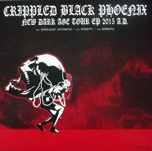 "CRIPPLED BLACK PHOENIX New Dark Age Tour EP 2015 A.D. (Season of Mist - Europe original) (NEW) 2x12"" EP"