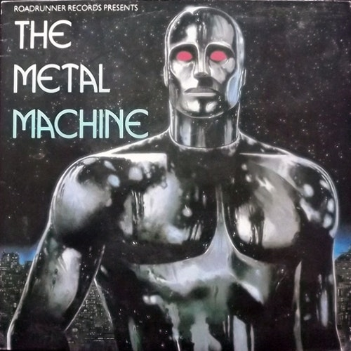 VARIOUS The Metal Machine (Roadrunner - Holland original) (VG+) LP
