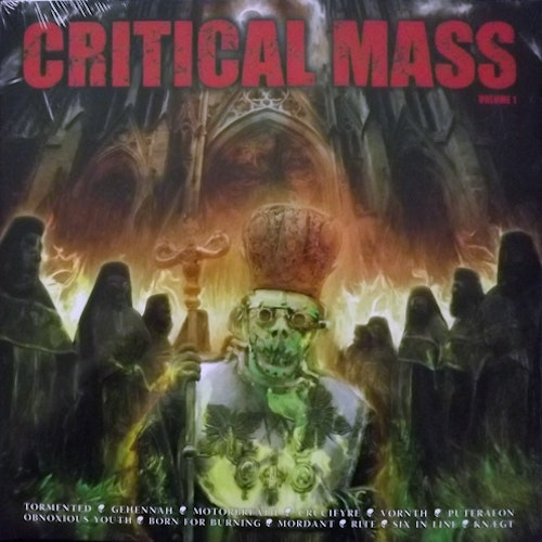 VARIOUS Critical Mass Volume 1 (Critical Mass - Sweden original) (NEW) LP