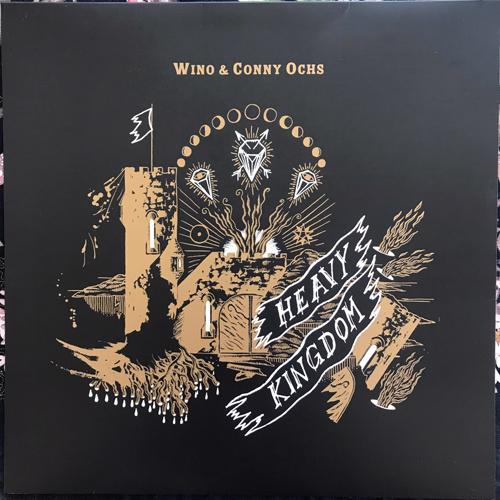 WINO & CONNY OCHS Heavy Kingdom (Exile on Mainstream - Germany original) (EX/NM) LP