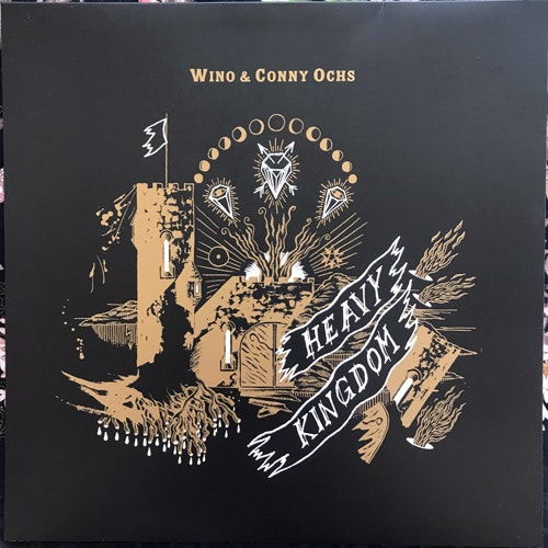 WINO & CONNY OCHS Heavy Kingdom (Exile on Mainstream - Germany original) (EX/NM) LP