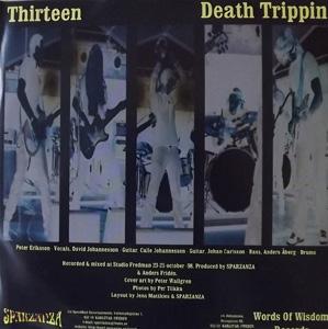 """SPARZANZA Thirteen (Words of Wisdom - Sweden original) (EX) PIC 7"""""""