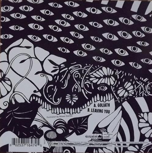"GRAVEYARD Goliath (White cover) (Stranded - Sweden original) (EX) 7"""
