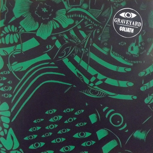 GRAVEYARD Goliath (Green cover) (Stranded - Sweden original) (EX) 7""