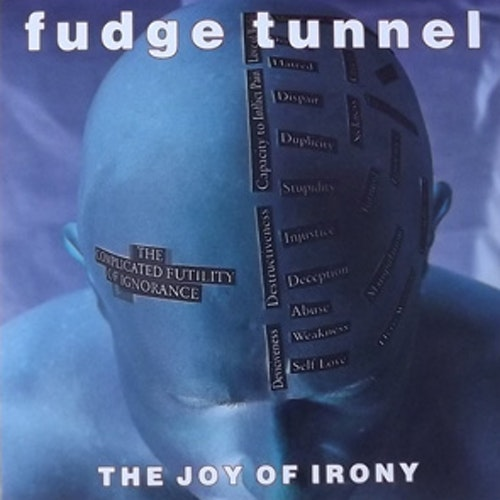 "FUDGE TUNNEL The Joy of Irony (Earache - UK original) (EX) 7"""