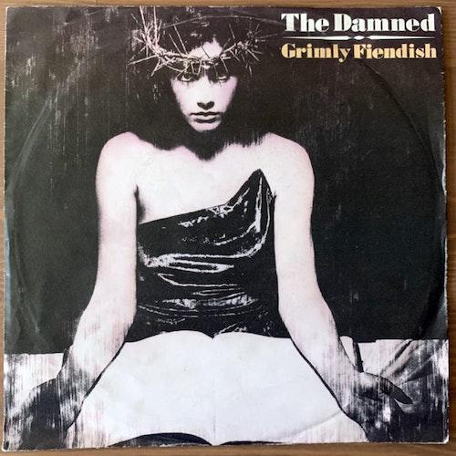 "DAMNED, the Grimly Fiendish (MCA - Europe original) (VG/VG+) 7"""