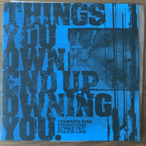 VARIOUS Things You Own End Up Owning You (Too Circle - Japan original) (EX/NM) 7""