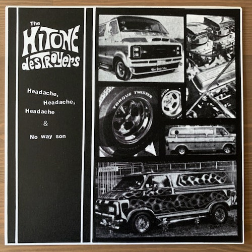 HITONE DESTROYERS, the Headache, Headache, Headache (Kato - New Zealand original) (EX) 7""