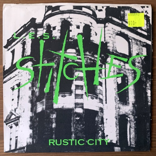L.E.S. STITCHES Rustic City (Green vinyl) (Honey Roasted - USA original) (VG+/EX) 7""