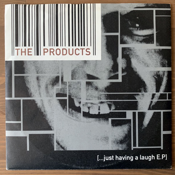 "PRODUCTS, the [...Just Having A Laugh E.P] (DSS - Austria original) (VG+/EX) 7"""