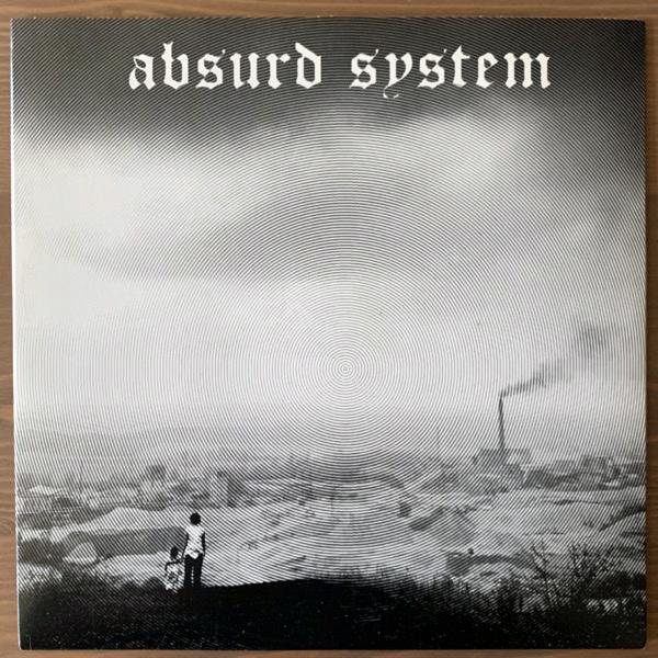 "ABSURD SYSTEM Absurd System (White vinyl) (Vex - USA original) (EX) 7"""