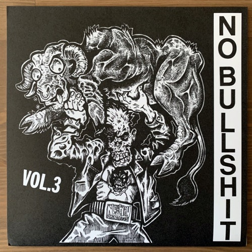 VARIOUS No Bullshit Vol.3 (No Way - USA original) (NM/EX) 7""