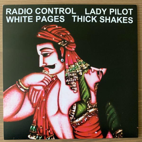 "VARIOUS Radio Control, Lady Pilot, White Pages, Thick Shakes (La Parca - USA original) (EX) 7"""