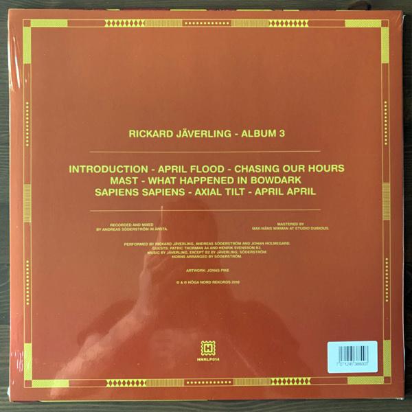 RICKARD JÄVERLING Album 3 (Höga Nord - Sweden original) (NEW) LP