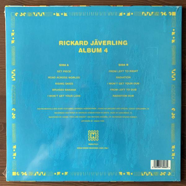 RICKARD JÄVERLING Album 4 (Höga Nord - Sweden original) (NEW) LP