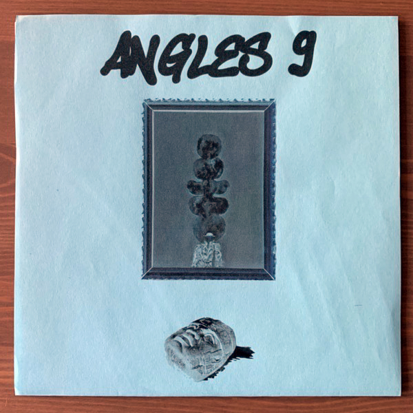 ANGLES 9 Equality & Death (Blue) (Omlott - Sweden original) (NEW) 7""