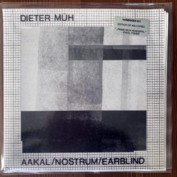 "DIETER MÜH Aakal (Camouflage vinyl) (Harbinger Sound - UK original) (NM) 7"""