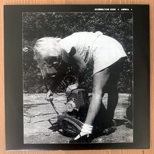 SICKNESS / JOHN WIESE Amnesia (Freak Animal - Finland original) (EX/NM) 7""